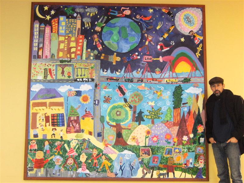 Bulletin boards to remember february 2011 for Elementary school mural